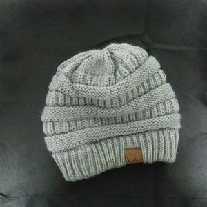 Womens C.C Knit Beanie Hat